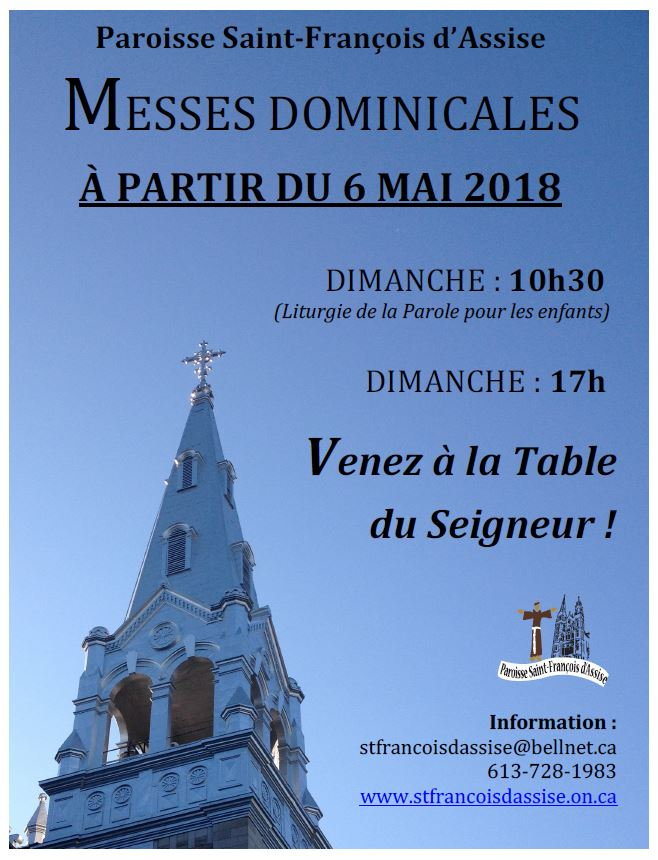 Heure Messe 10h30